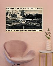 Plane Every Takeoff Is Optional 36x24 Poster poster-landscape-36x24-lifestyle-19