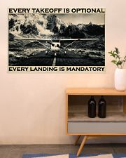 Plane Every Takeoff Is Optional 36x24 Poster poster-landscape-36x24-lifestyle-22