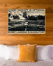 Plane Every Takeoff Is Optional 36x24 Poster poster-landscape-36x24-lifestyle-23