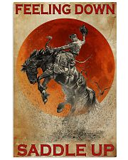 Horse Riding Feeling Down Saddle Up 2  24x36 Poster front