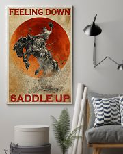 Horse Riding Feeling Down Saddle Up 2  24x36 Poster lifestyle-poster-1