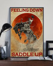 Horse Riding Feeling Down Saddle Up 2  24x36 Poster lifestyle-poster-2