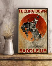 Horse Riding Feeling Down Saddle Up 2  24x36 Poster lifestyle-poster-3