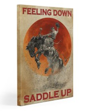 Horse Riding Feeling Down Saddle Up 2  20x30 Gallery Wrapped Canvas Prints thumbnail