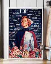 I Am A Nurse Flowers 24x36 Poster lifestyle-poster-4