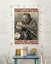 Motorcycle Old Men  24x36 Poster lifestyle-holiday-poster-3