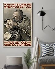 Motorcycle Old Men  24x36 Poster lifestyle-poster-1