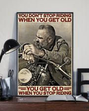 Motorcycle Old Men  24x36 Poster lifestyle-poster-2