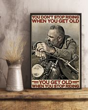 Motorcycle Old Men  24x36 Poster lifestyle-poster-3