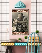 Motorcycle Old Men  24x36 Poster lifestyle-poster-6