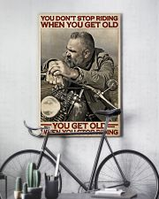 Motorcycle Old Men  24x36 Poster lifestyle-poster-7