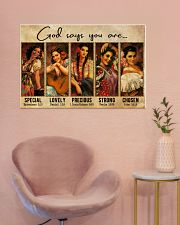 Mexican Girl God Says You Are 36x24 Poster poster-landscape-36x24-lifestyle-19