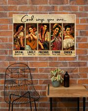 Mexican Girl God Says You Are 36x24 Poster poster-landscape-36x24-lifestyle-20