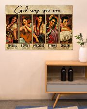 Mexican Girl God Says You Are 36x24 Poster poster-landscape-36x24-lifestyle-22