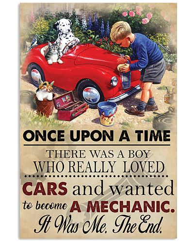 Boy loved Cars And Wanted To Become A Mechanic 3