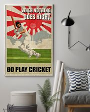 Go Play Cricket WW2 Style 24x36 Poster lifestyle-poster-1