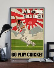 Go Play Cricket WW2 Style 24x36 Poster lifestyle-poster-2