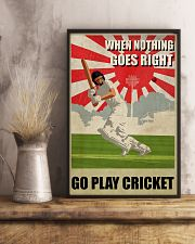 Go Play Cricket WW2 Style 24x36 Poster lifestyle-poster-3