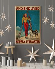 Skiing Live Happily 24x36 Poster lifestyle-holiday-poster-1