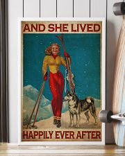 Skiing Live Happily 24x36 Poster lifestyle-poster-4