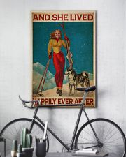 Skiing Live Happily 24x36 Poster lifestyle-poster-7