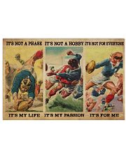Rugby It's My Life 36x24 Poster front