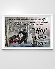 Snowcross I Ride To Feel Strong  36x24 Poster poster-landscape-36x24-lifestyle-02