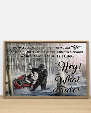 Snowcross I Ride To Feel Strong  36x24 Poster poster-landscape-36x24-lifestyle-03