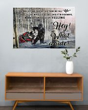 Snowcross I Ride To Feel Strong  36x24 Poster poster-landscape-36x24-lifestyle-21