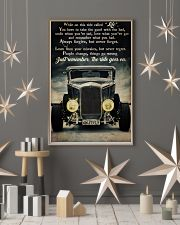 Hot Rod While On This Ride 24x36 Poster lifestyle-holiday-poster-1