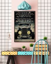 Hot Rod While On This Ride 24x36 Poster lifestyle-poster-6