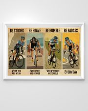 Cycling Be Badass Everyday 36x24 Poster poster-landscape-36x24-lifestyle-02