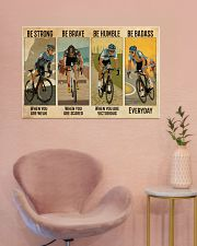 Cycling Be Badass Everyday 36x24 Poster poster-landscape-36x24-lifestyle-19