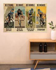 Cycling Be Badass Everyday 36x24 Poster poster-landscape-36x24-lifestyle-22