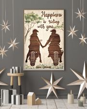 Happiness Is Riding 24x36 Poster lifestyle-holiday-poster-1