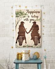 Happiness Is Riding 24x36 Poster lifestyle-holiday-poster-3