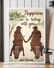 Happiness Is Riding 24x36 Poster lifestyle-poster-4