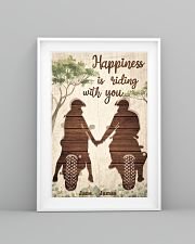 Happiness Is Riding 24x36 Poster lifestyle-poster-5