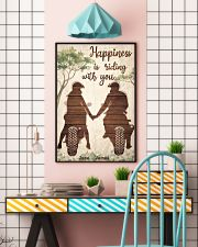 Happiness Is Riding 24x36 Poster lifestyle-poster-6
