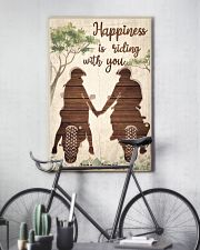 Happiness Is Riding 24x36 Poster lifestyle-poster-7