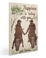 Happiness Is Riding Gallery Wrapped Canvas Prints tile