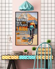 Cycling I Don't Ride To Win Races  24x36 Poster lifestyle-poster-6