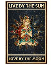 Yoga Girl Live By Sun Love By Moon 24x36 Poster front