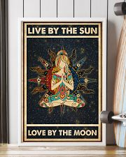 Yoga Girl Live By Sun Love By Moon 24x36 Poster lifestyle-poster-4