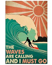 Waves Calling  24x36 Poster front