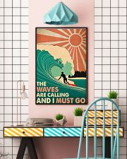 Waves Calling  24x36 Poster lifestyle-poster-6