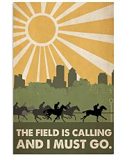 Horse Racing The Field Is Calling  24x36 Poster front