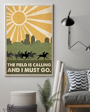 Horse Racing The Field Is Calling  24x36 Poster lifestyle-poster-1