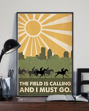 Horse Racing The Field Is Calling  24x36 Poster lifestyle-poster-2