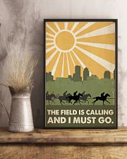 Horse Racing The Field Is Calling  24x36 Poster lifestyle-poster-3